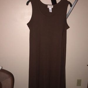 Lea Long Oversized Sleeveless Maxi Dress